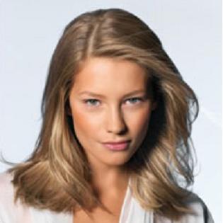 Укладка волос, длинные волосы