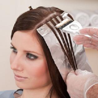 Мелирование на фольгу, супер длинные волосы (Jungle Fever)